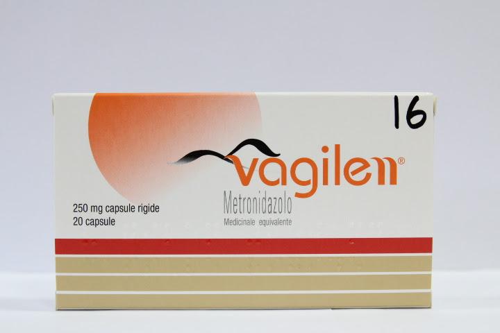 Image No: VAGILEN (metronidazolo) 20 caps rigide da 250 mg