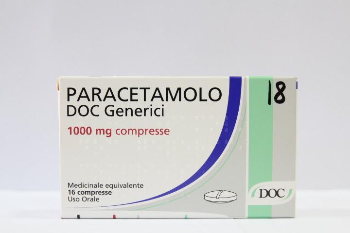 Image No: PARACETAMOLO DOC*16CPR 1000MG