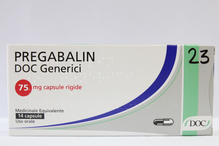 Image No: PREGABALIN DOC G*14CPS 75MG