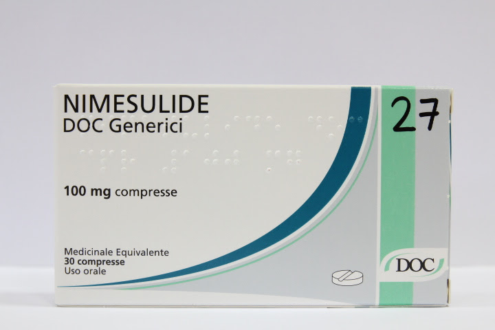 Image No: NIMESULIDE DOC*30CPR 100MG