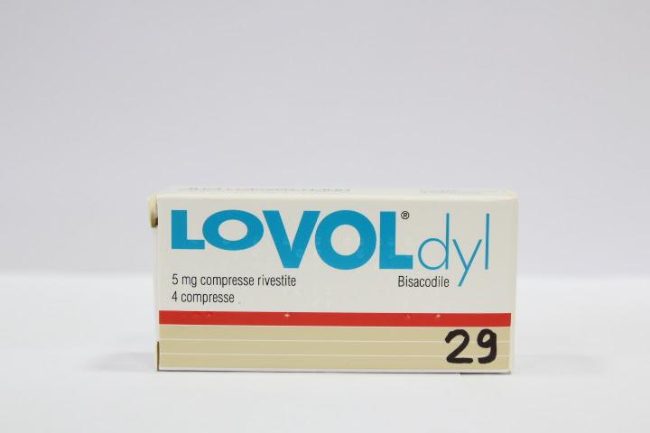 Image No: LOVODYL (bisacodile) 4 cpr riv 5 mg
