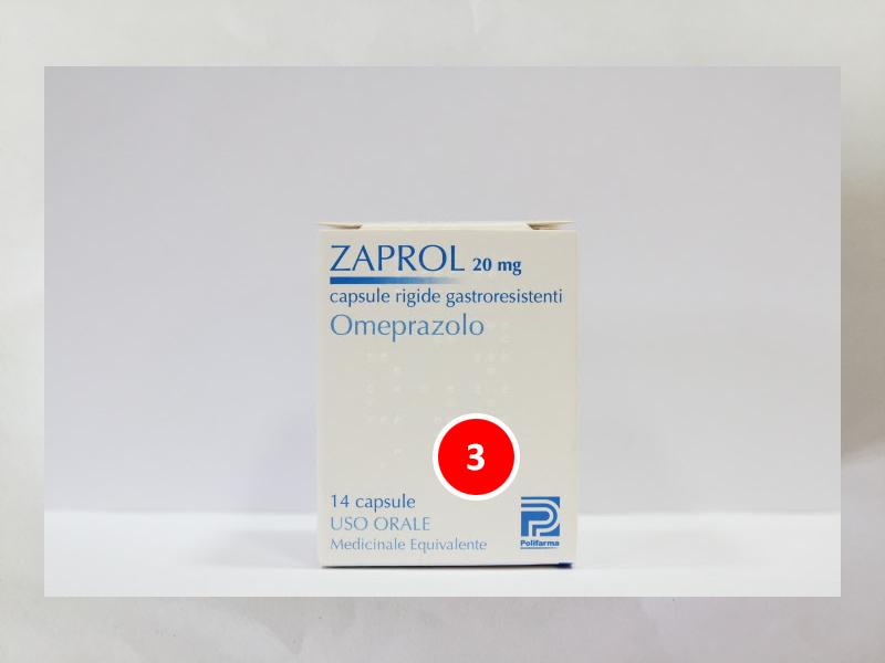 Image No: ZAPROL 20 MG 14 CPS FL