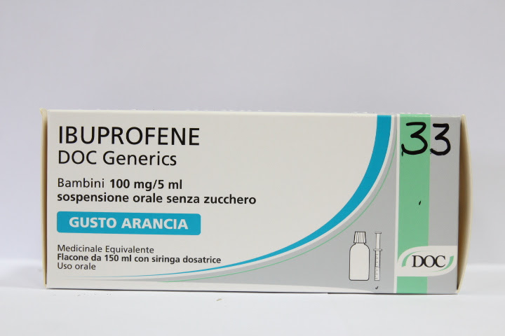 Image No: IBUPROFENE DOC*FL 150ML ARA