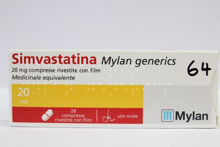 Image No: SIMVASTATINA MG*28CPR 20MG