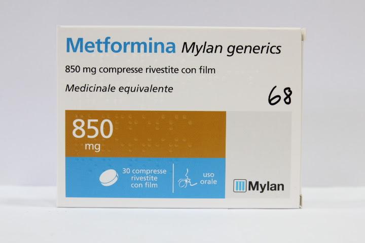 Image No: METFORMINA MG*30CPR RIV 850MG