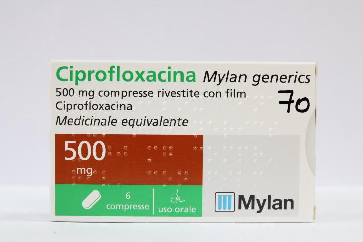 Image No: CIPROFLOXACINA MG*6CPR 500MG