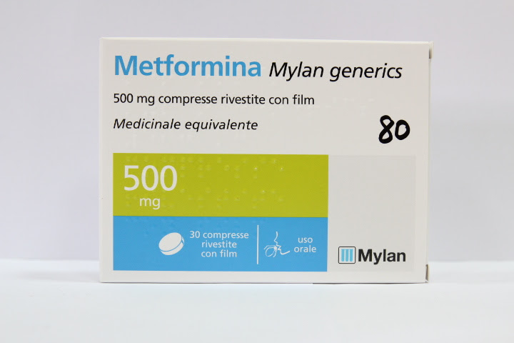 Image No: METFORMINA MY*30CPR RIV 500MG