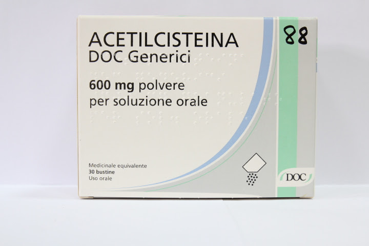 Image No: ACETILCISTEINA DOC*30BS 600MG