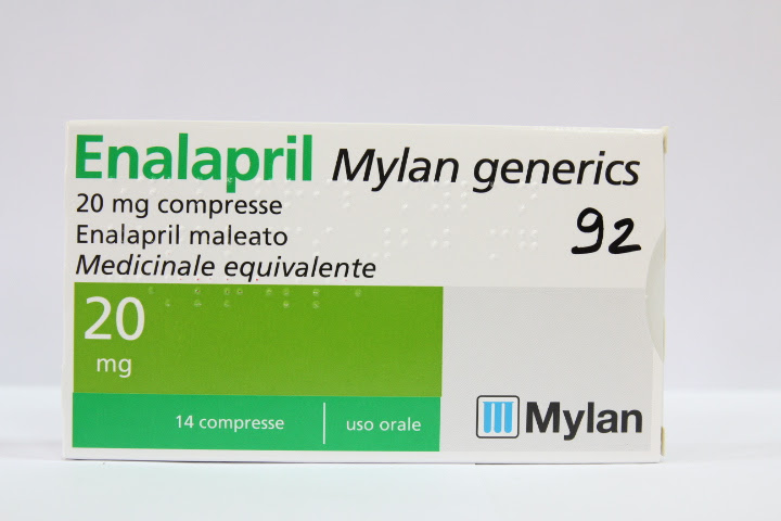 Image No: ENALAPRIL MG*14CPR 20MG